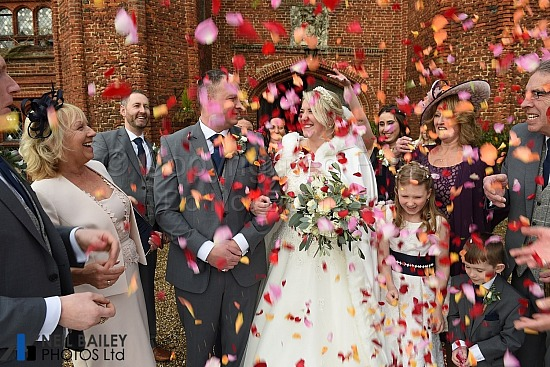 Samantha & James at Leez Priory