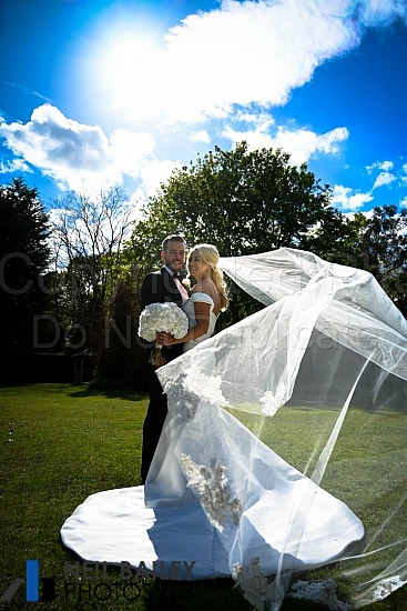 Danielle & Oliver at Hutton Hall