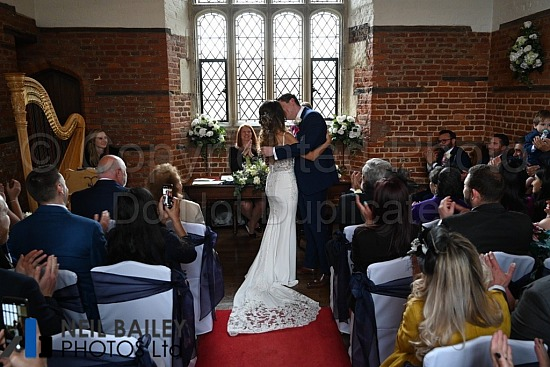 Natalia & Trevor at Leez Priory