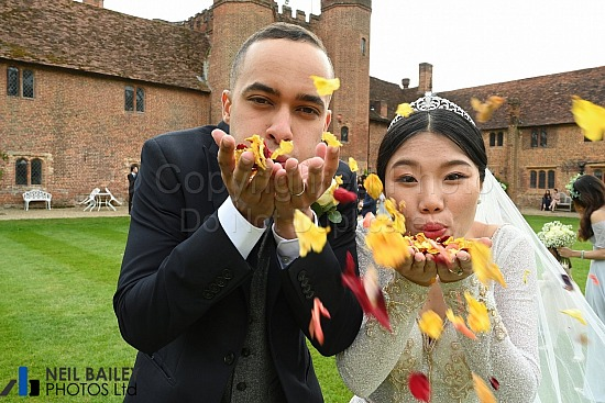 Yiqing & Ellis at Leez Priory