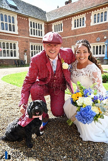 Sonia & Pete at Gosfield Hall
