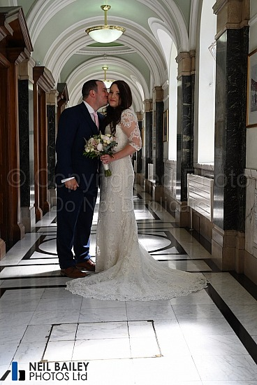 Gillian & Matthew at Islington Town Hall