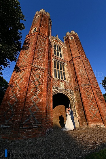 Rachael & Stuart at Leez Priory
